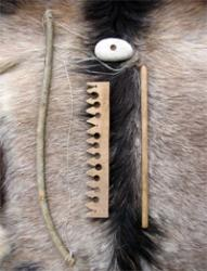 kit pour alumage d'un feu avec archet et paumelle